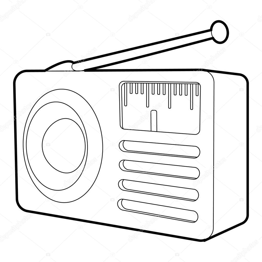 retro radyo al u0131c u0131 simgesi  izometrik 3d stili  u2014 stok vekt u00f6r  u00a9 ylivdesign  136764074