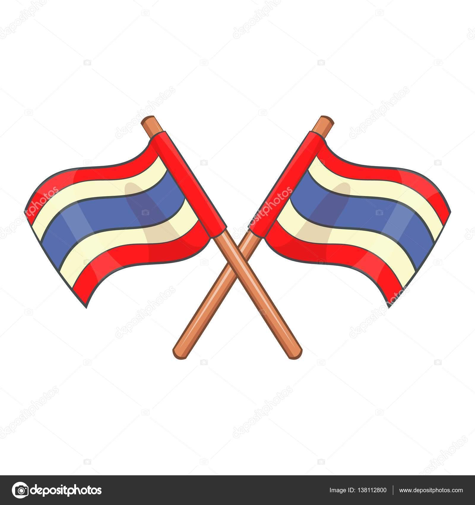 flags of thailand icon cartoon style stock vector ylivdesign rh depositphotos com cartoon flags of the world cartoon flags of the world