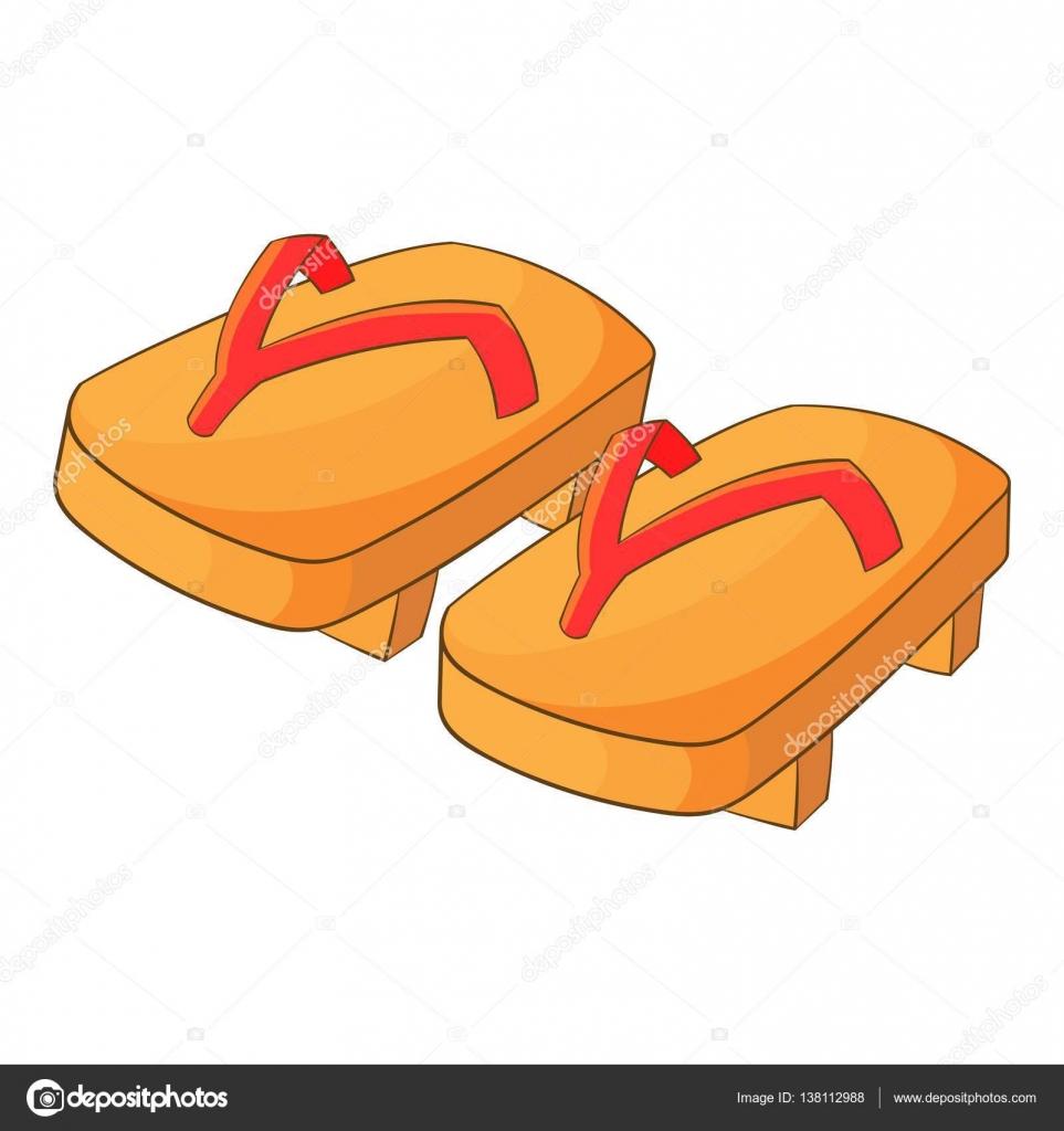 Японський Гета взуття значок 8532611b14b24