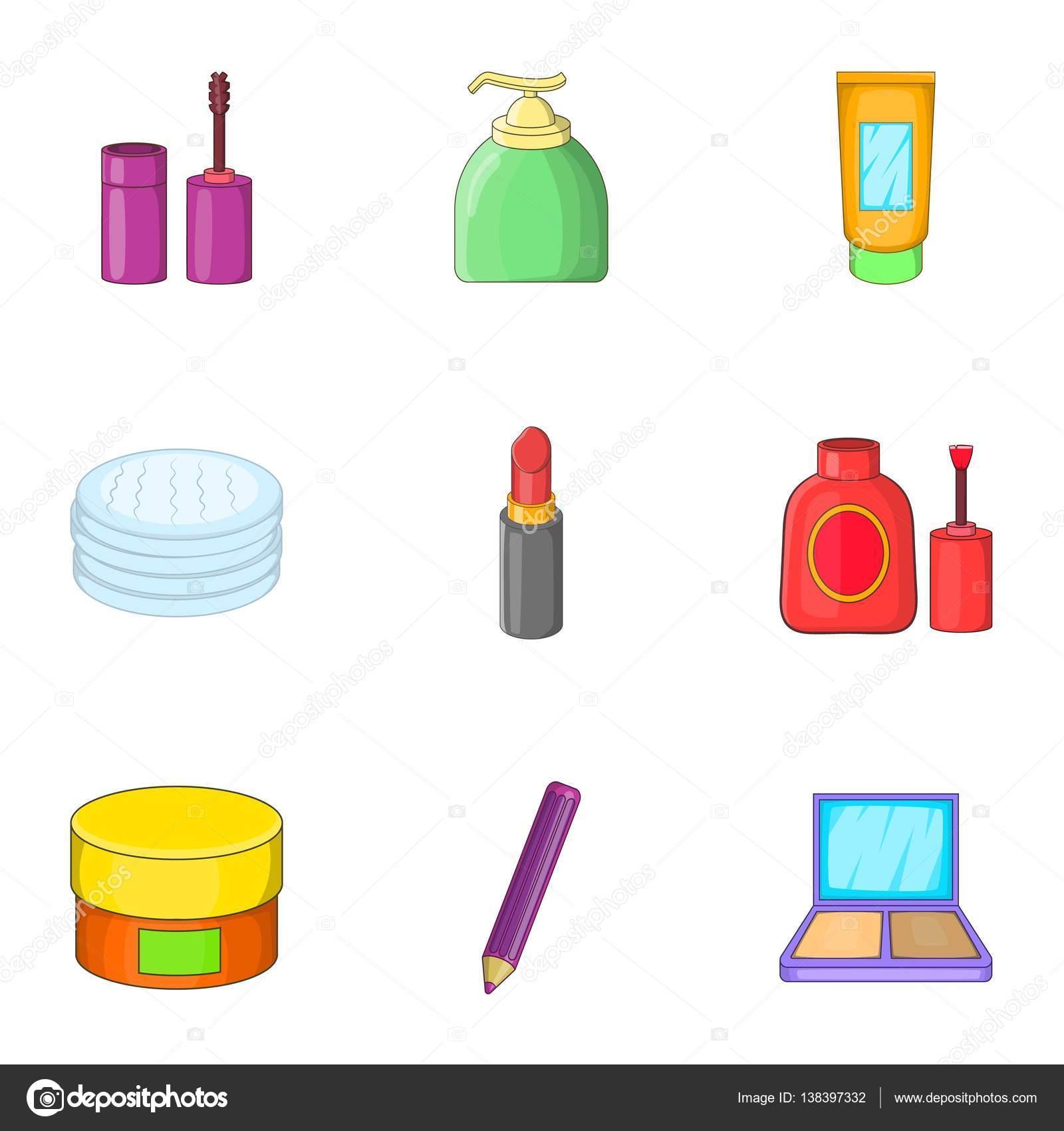 Cartoon makeup set