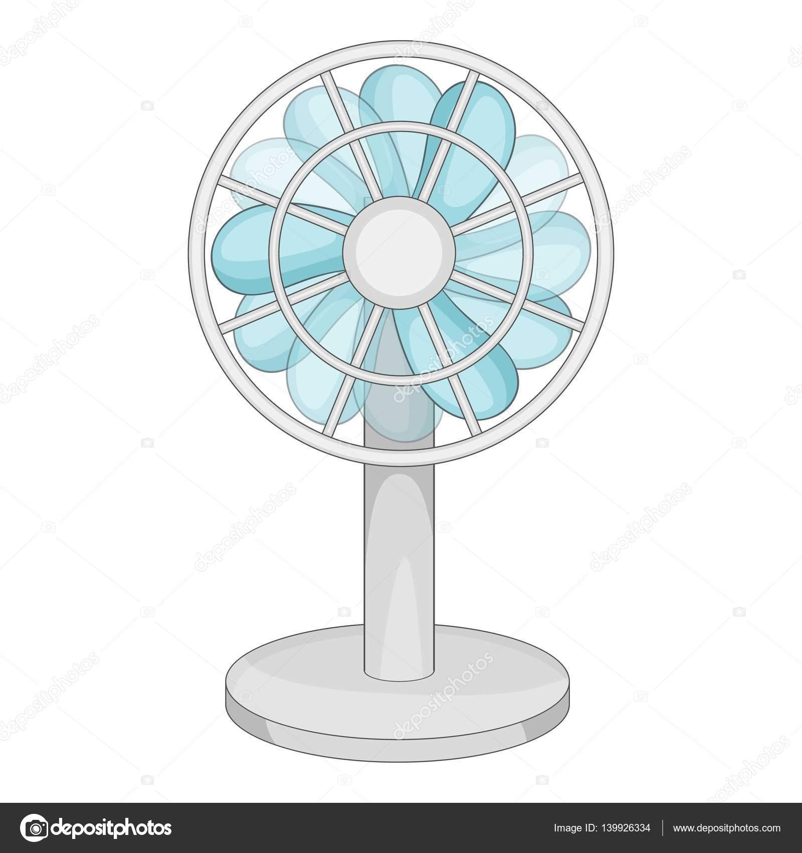 Icono de ventilador peque o estilo de dibujos animados vector de stock ylivdesign 139926334 - Fotos de ventiladores ...