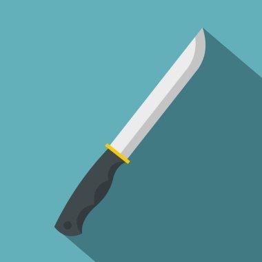Knife icon , flat style