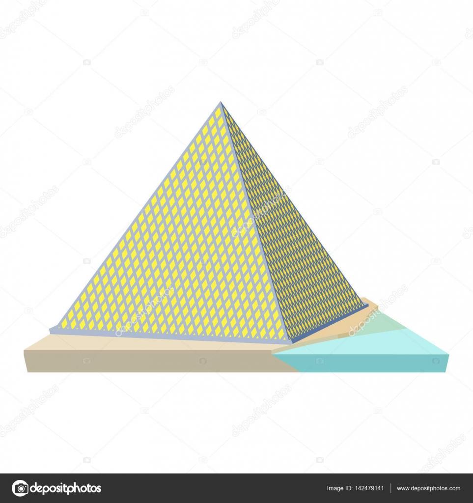 ルーブル美術館のピラミッド状の...