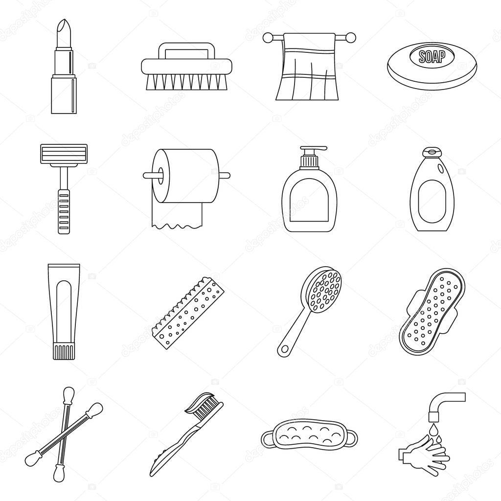 Рисунок предметы гигиены