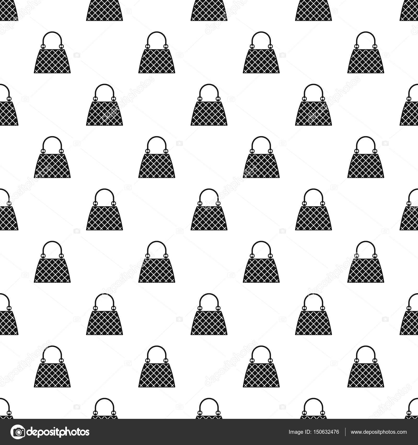 Vector patrón de bolso hermoso — Archivo Imágenes Vectoriales ...