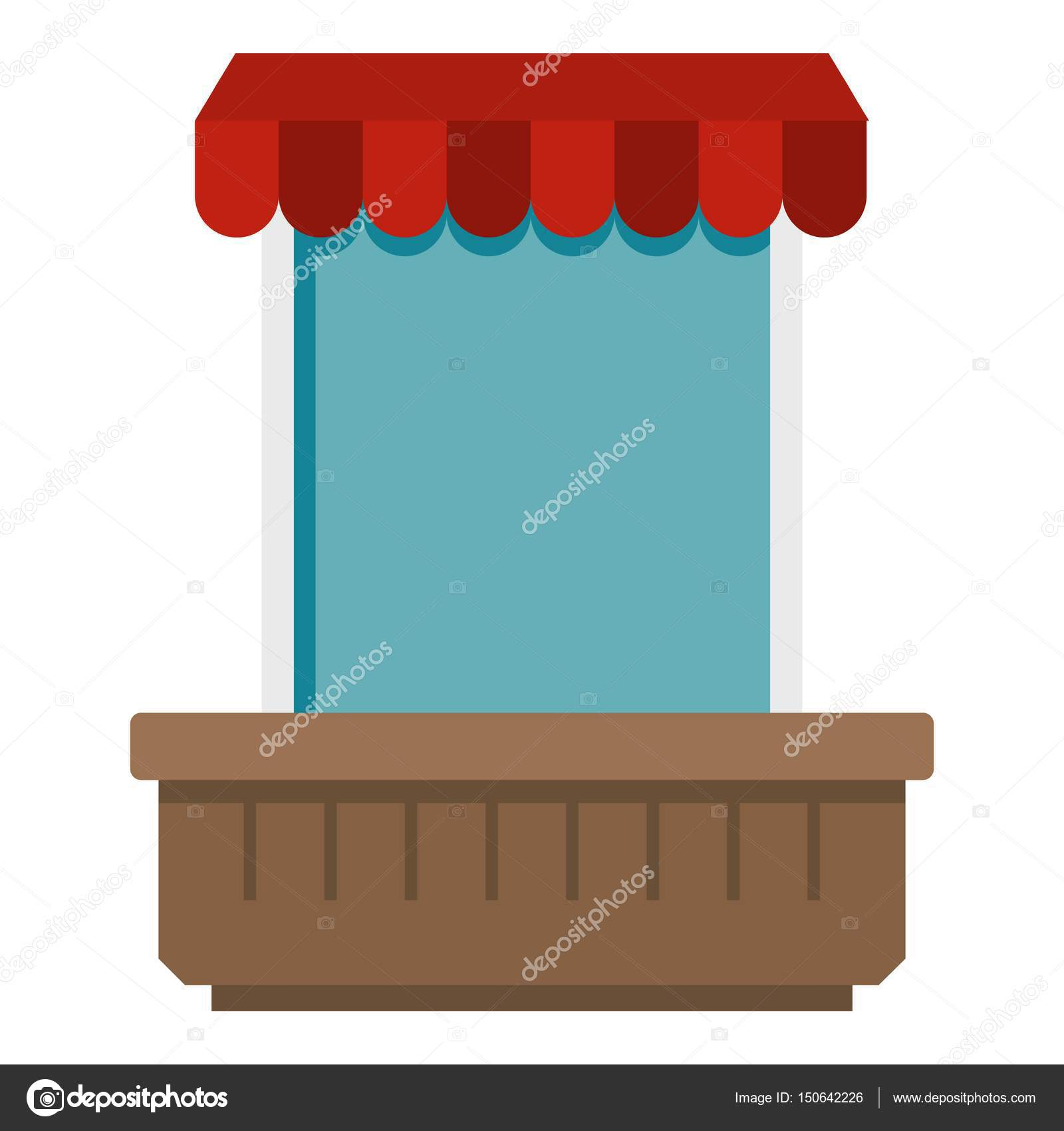 Window with canopy icon isolated u2014 Stock Vector  sc 1 st  Depositphotos : canopy icon - memphite.com