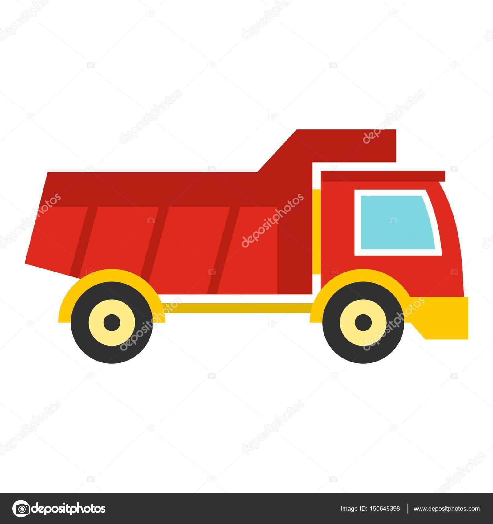 Icono De Carro De Juguete Rojo Aislado Archivo Imagenes