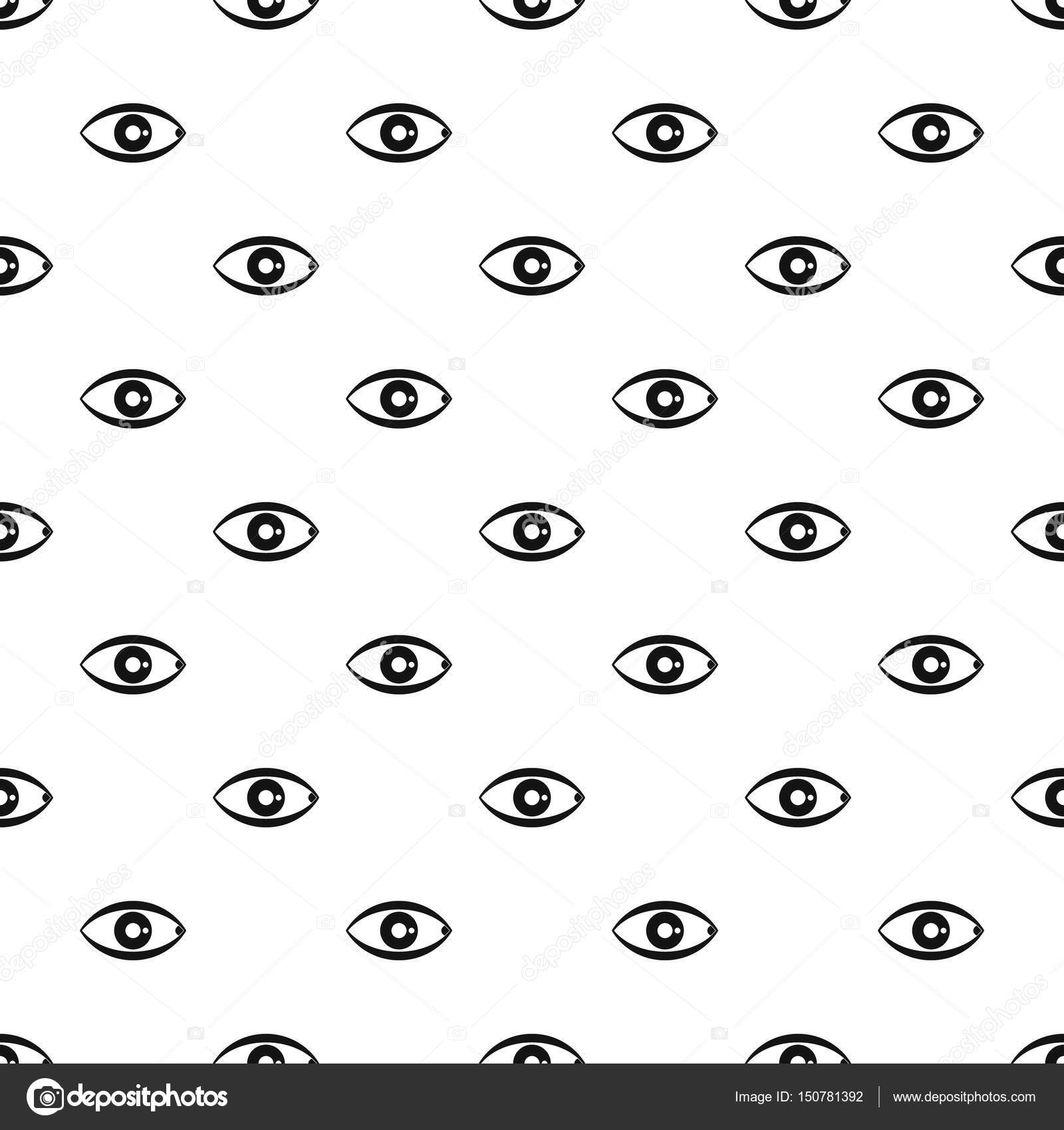human eye pattern vector — stock vector © ylivdesign #150781392