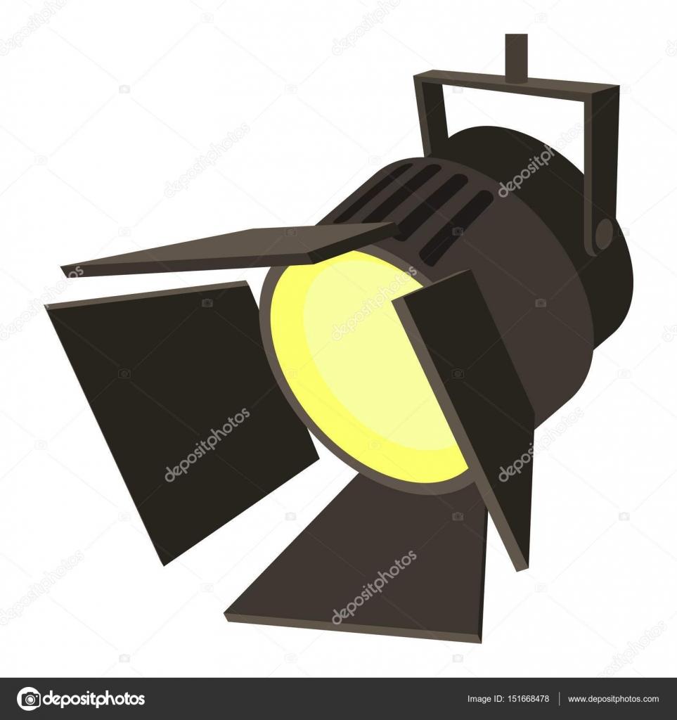 ic ne de projecteur cin ma ou th tre style cartoon image vectorielle ylivdesign 151668478. Black Bedroom Furniture Sets. Home Design Ideas