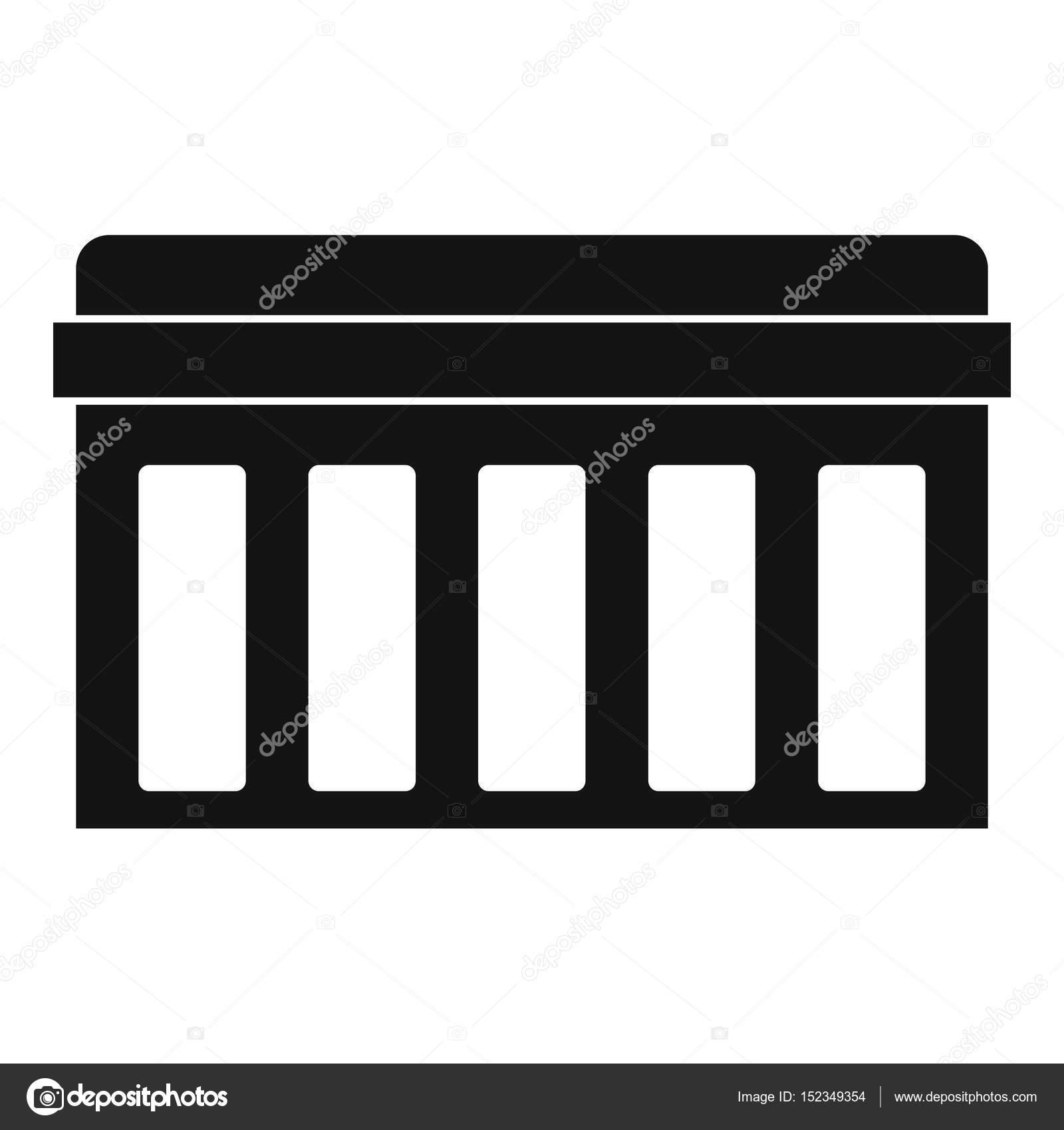 Circuito Sencillo : Tarjeta de circuitos tecnología icono simple u2014 vector de stock