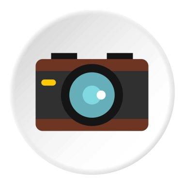 Camera icon circle