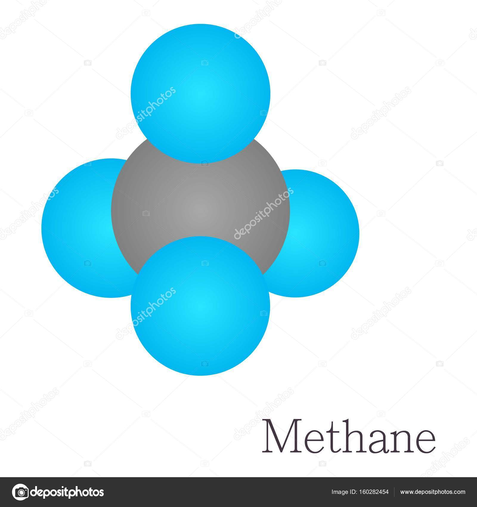 Methane 3d molecule chemical science stock vector ylivdesign methane 3d molecule chemical science stock vector biocorpaavc Gallery