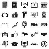 Část peněz ikony sady, jednoduchý styl