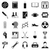 Sada ikon akademie, jednoduchý styl