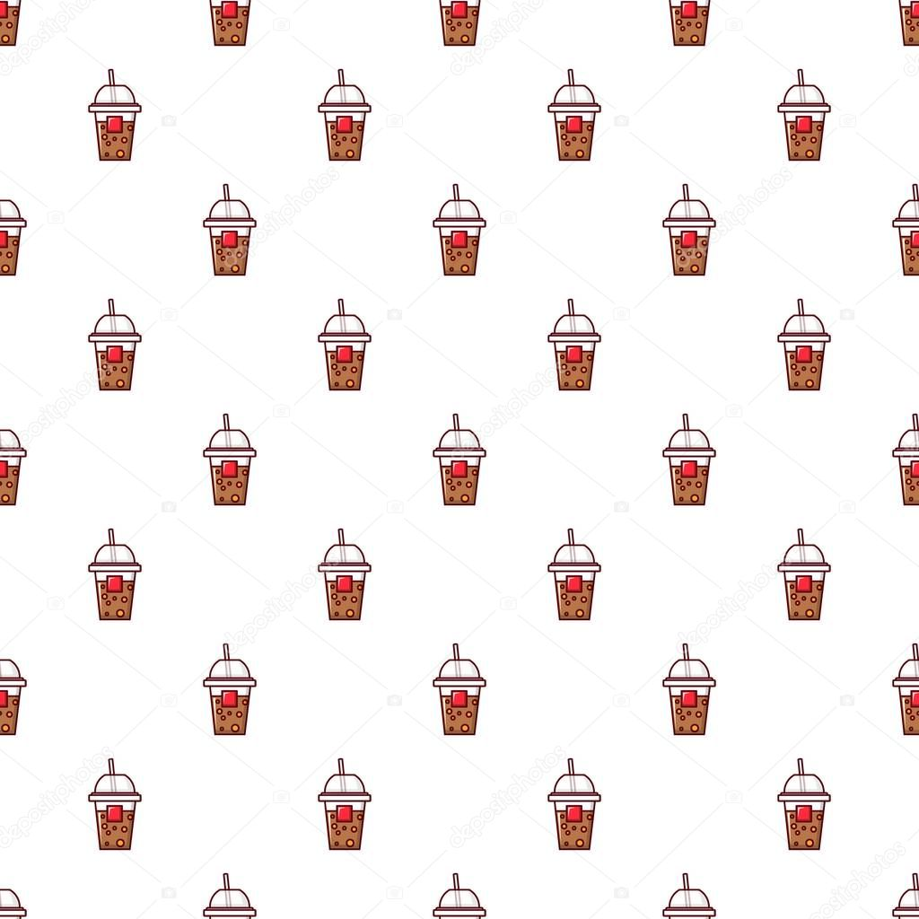 Paper cup pattern seamless