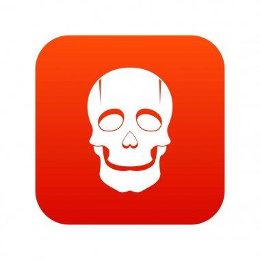 Singer mask icon digital red