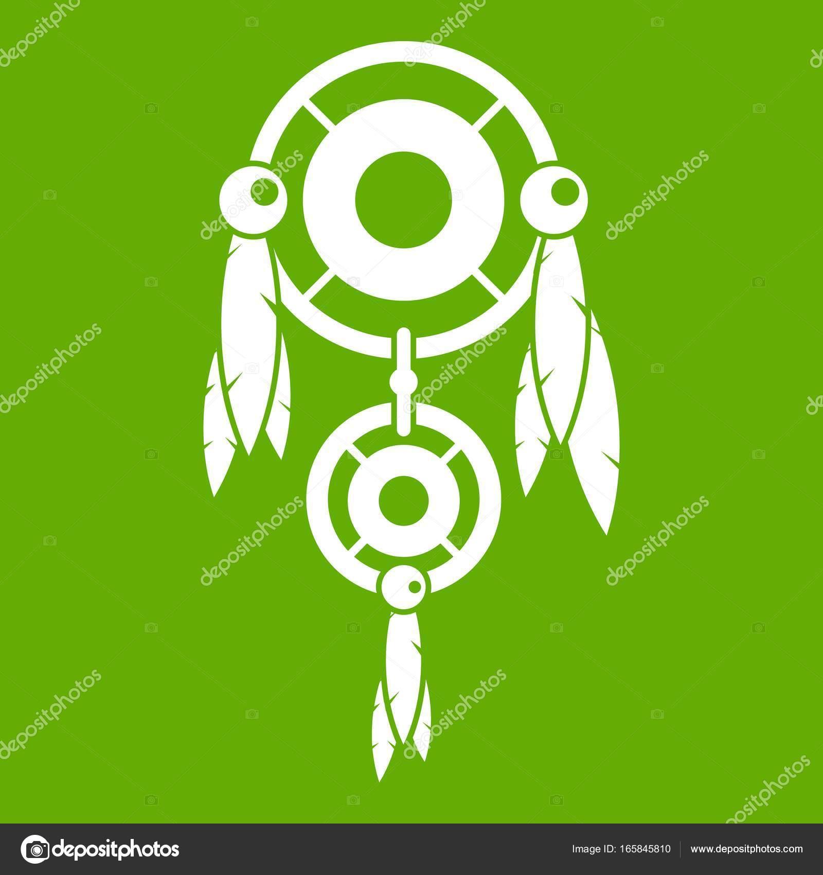 Native american dreamcatcher icon green stock vector native american dreamcatcher icon green stock vector 165845810 biocorpaavc
