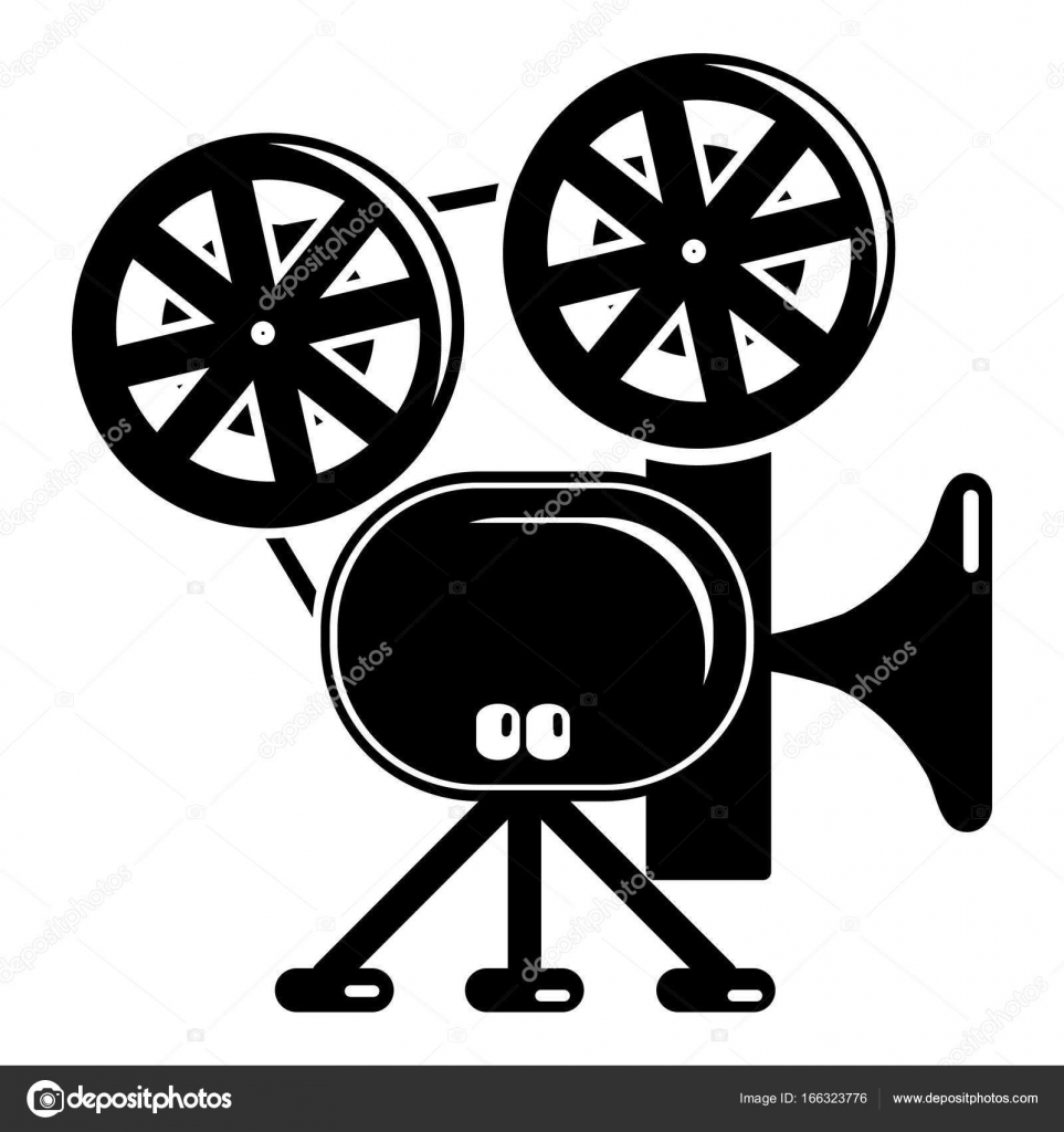 video camera icon simple black style stock vector ylivdesign Wireless Web Camera video camera icon simple illustration of video camera vector icon for web vector by ylivdesign