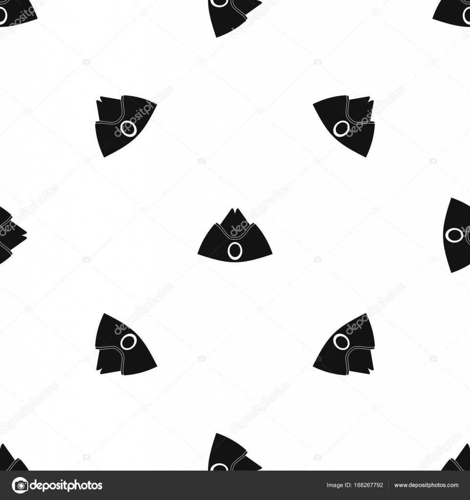 Casquillo del forraje sin costura blanca — Vector de stock ...