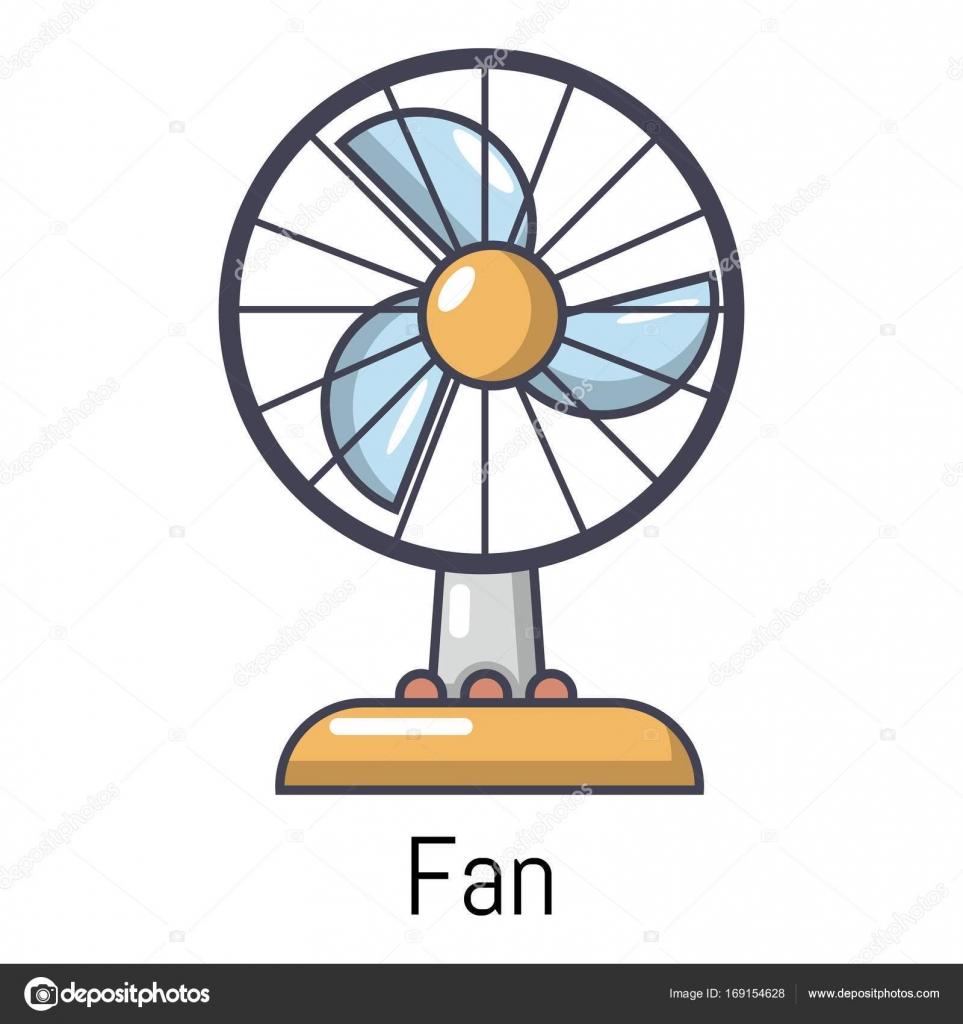 Dibujos ventilador icono de ventilador estilo de dibujos animados vector de stock - Fotos de ventiladores ...
