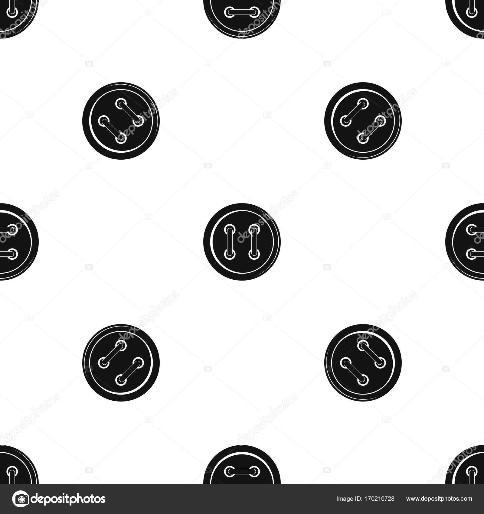 Nähen-Taste Muster nahtlos schwarz — Stockvektor © ylivdesign #170210728