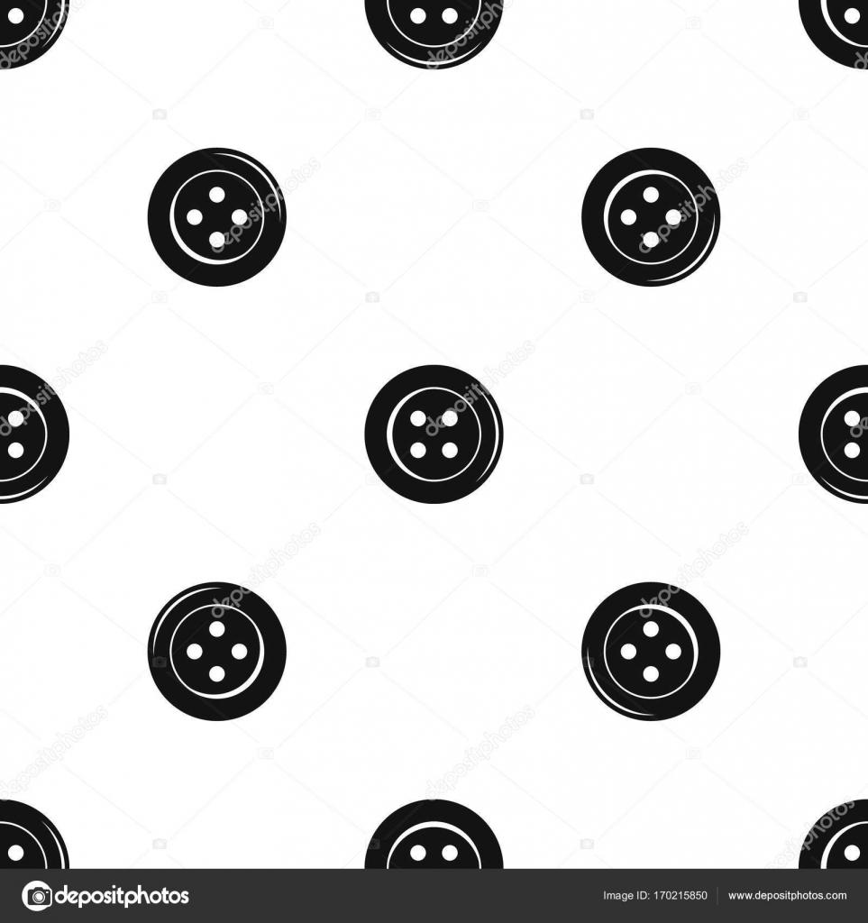 Nähen-Taste Muster nahtlos schwarz — Stockvektor © ylivdesign #170215850