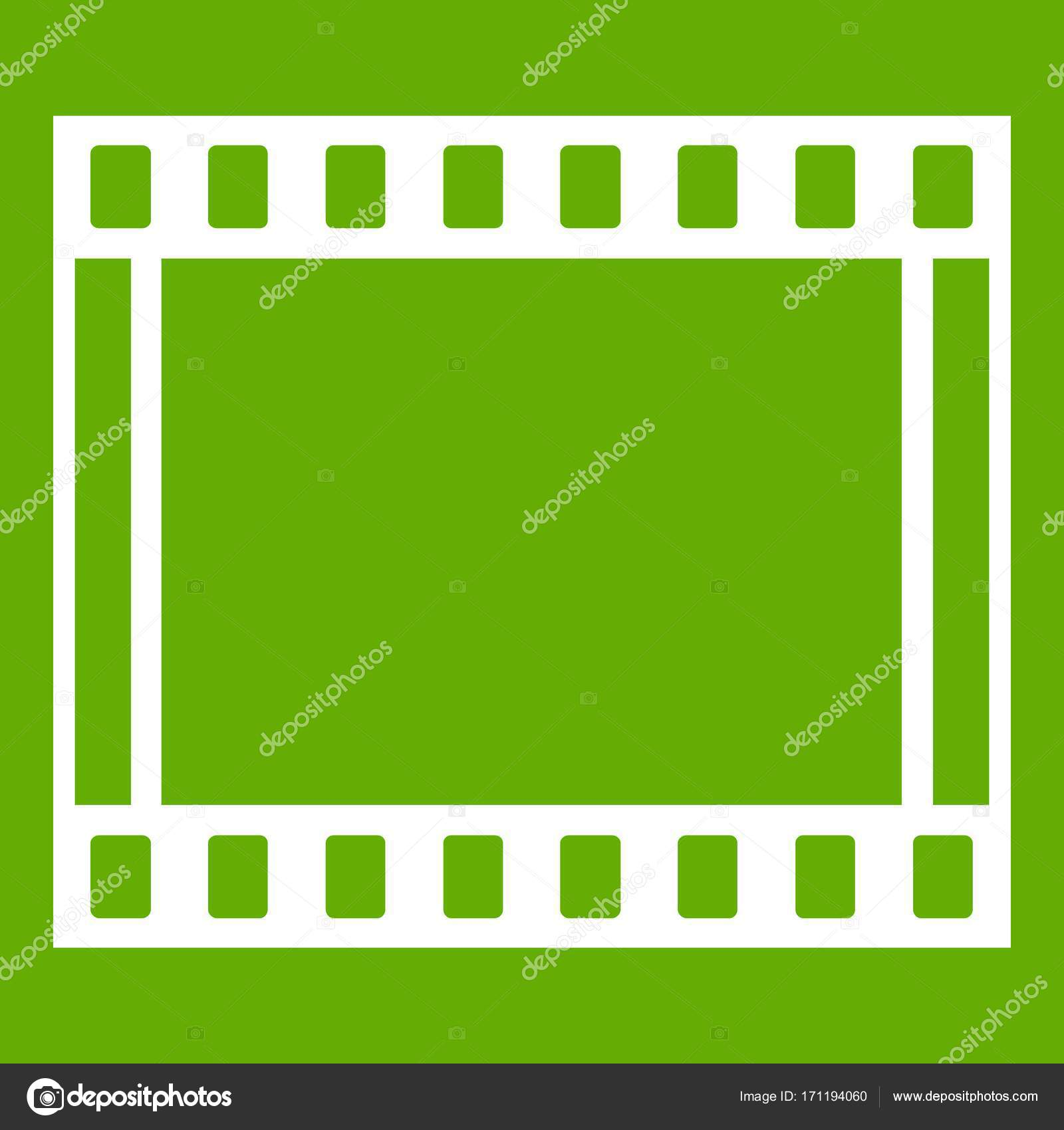 Film with frames movie icon green — Stock Vector © ylivdesign #171194060