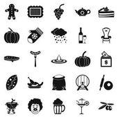 Štědrost ikony nastavit, jednoduchý styl