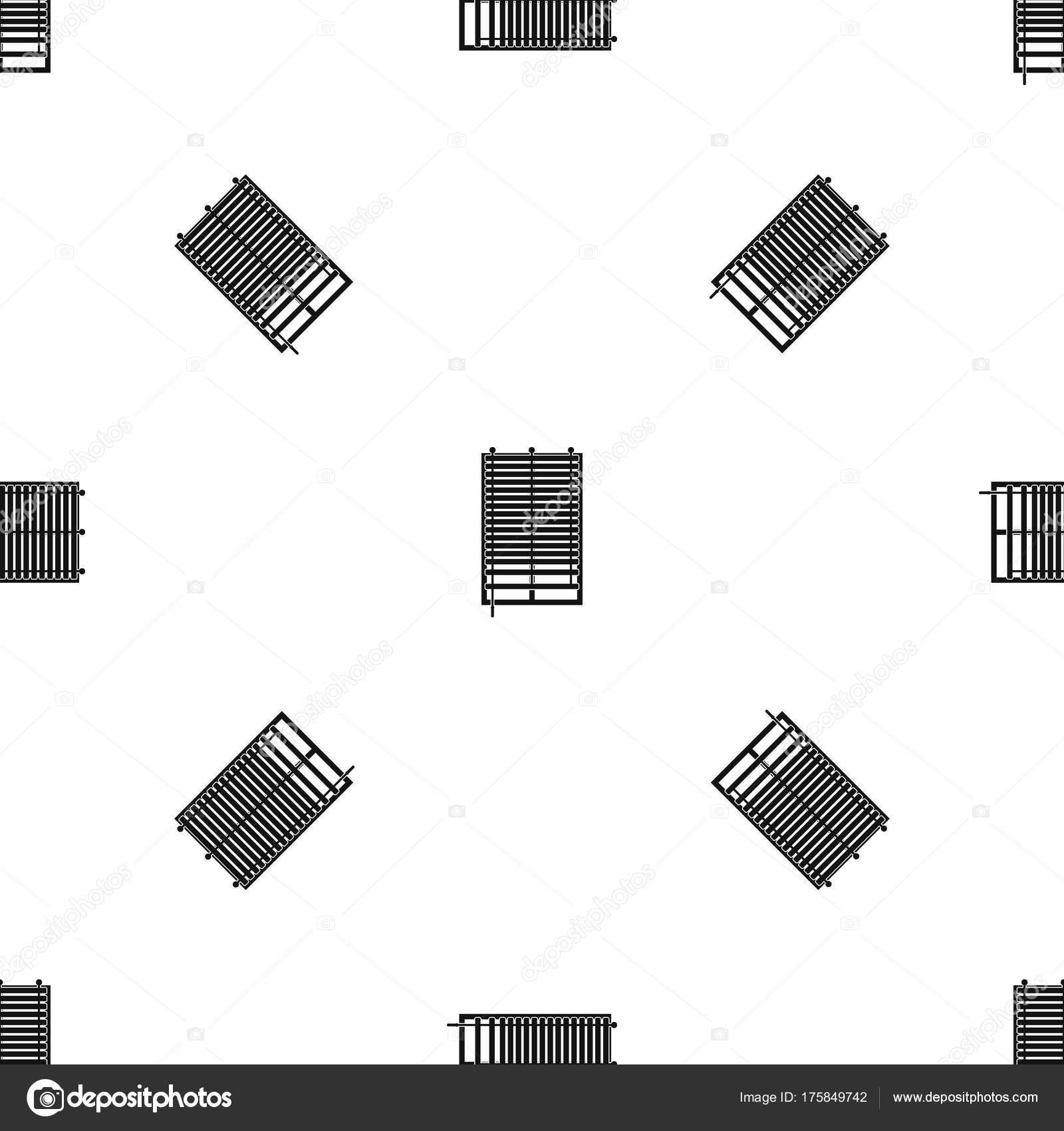 Fenêtre Transparente Noir De Jalousie En Bois Modèle Image