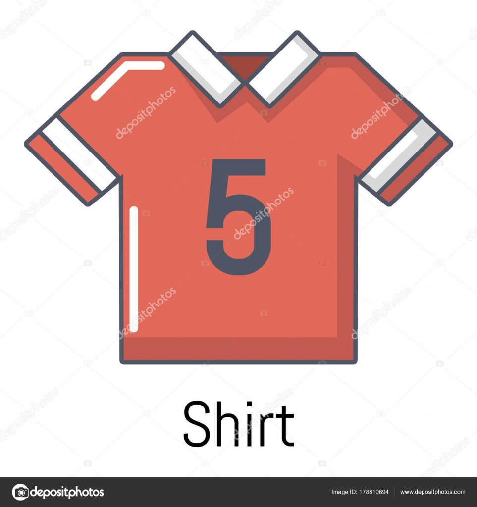21171a54ab5da Icono de la camiseta de fútbol. Ilustración de dibujos animados de icono de  vector de camiseta de fútbol para web - dibujos  camiseta de futbol dibujo  ...