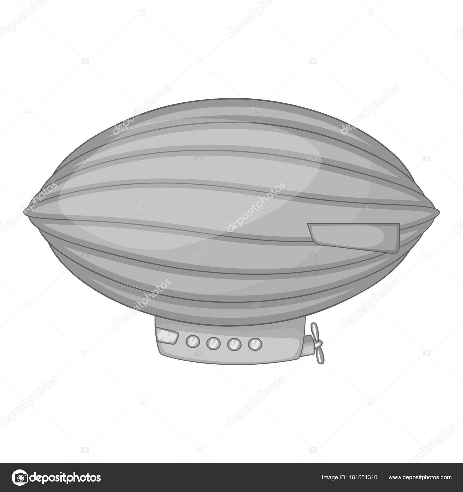 ballon dirigeable ovale
