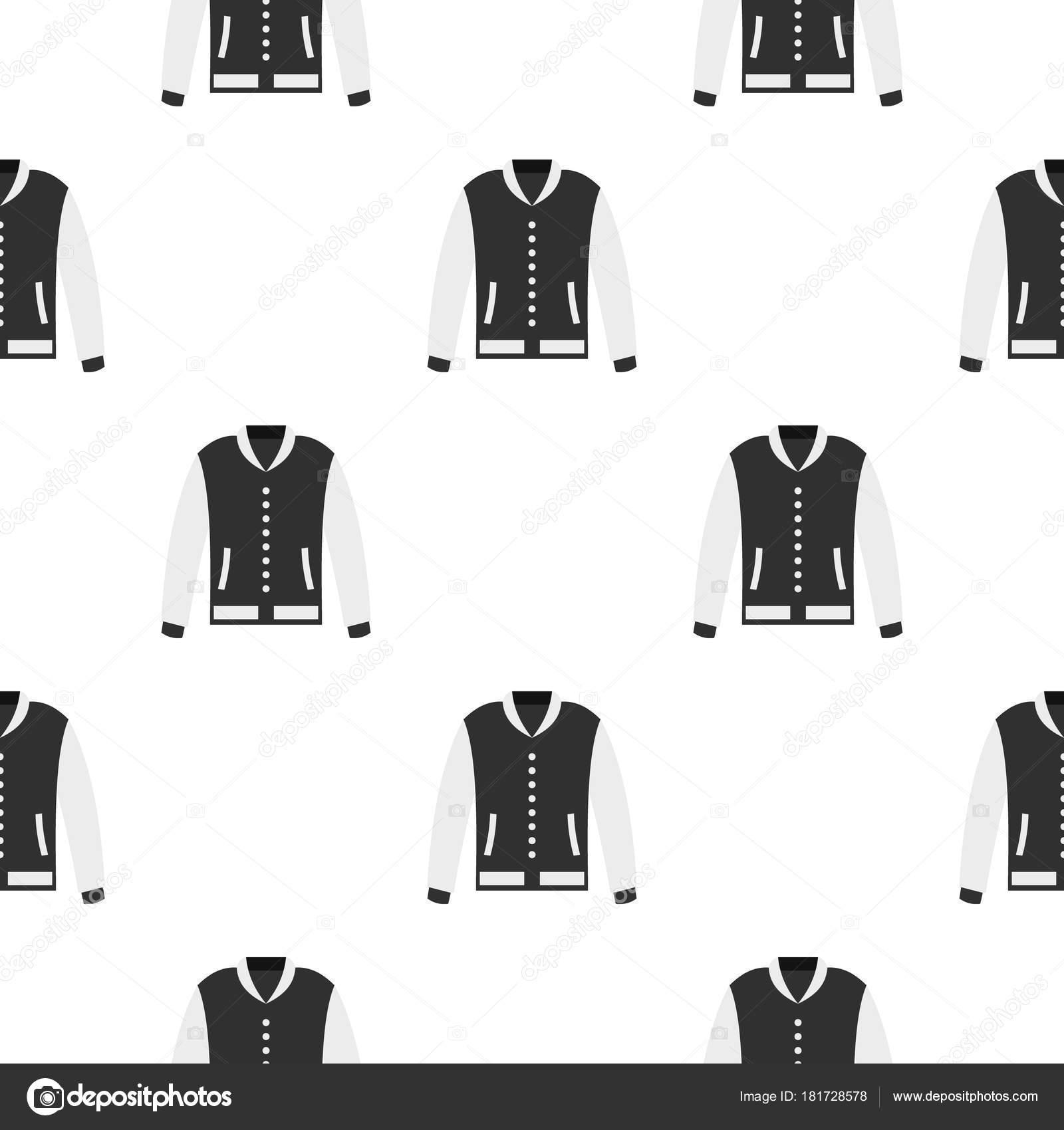 Chaqueta sin patron | Patrón de la chaqueta de béisbol sin costura ...