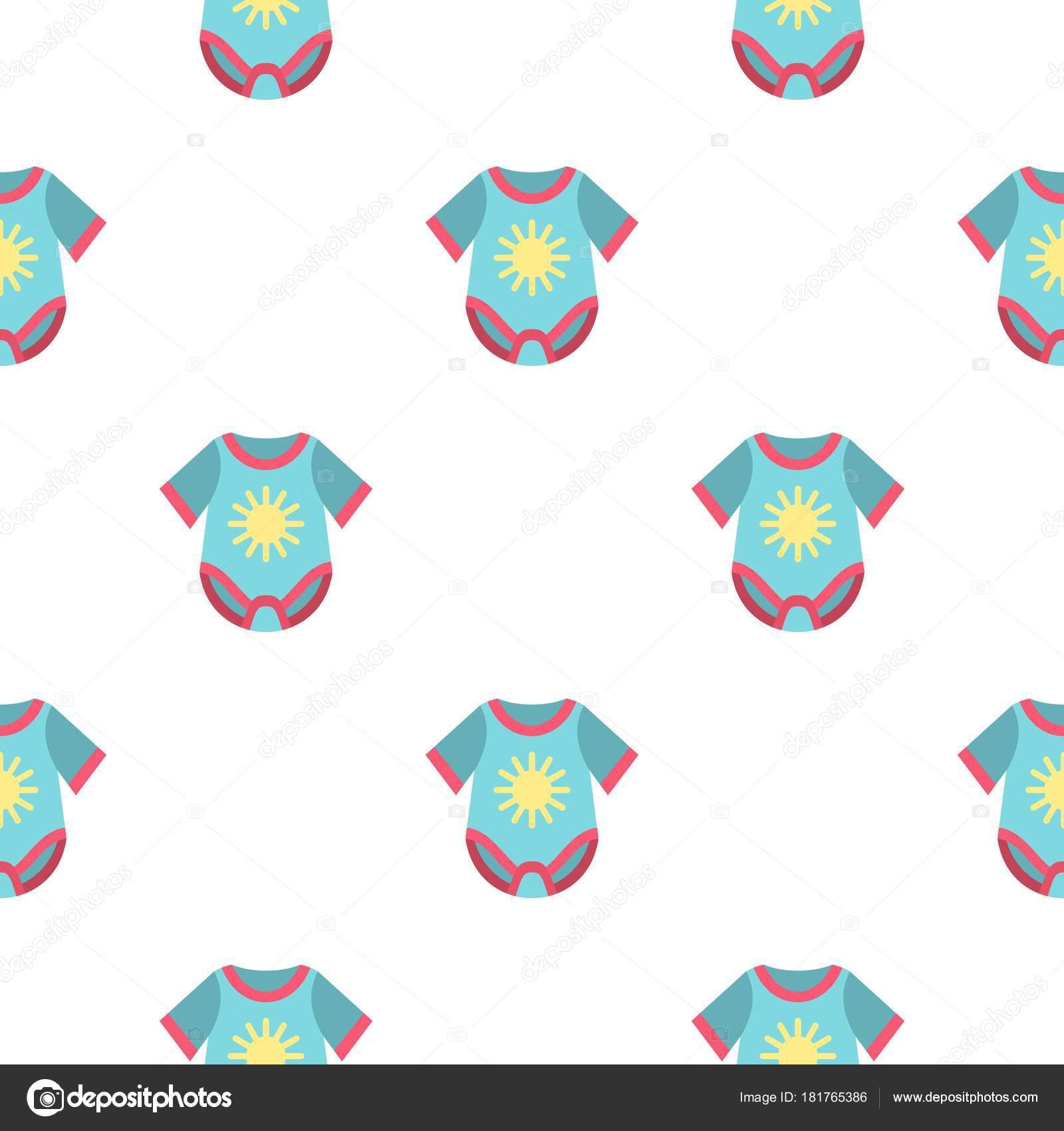 Patrón de mono bebé plana — Vector de stock © ylivdesign #181765386