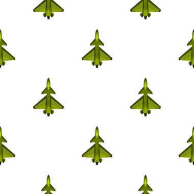 Military fighter jet pattern flat