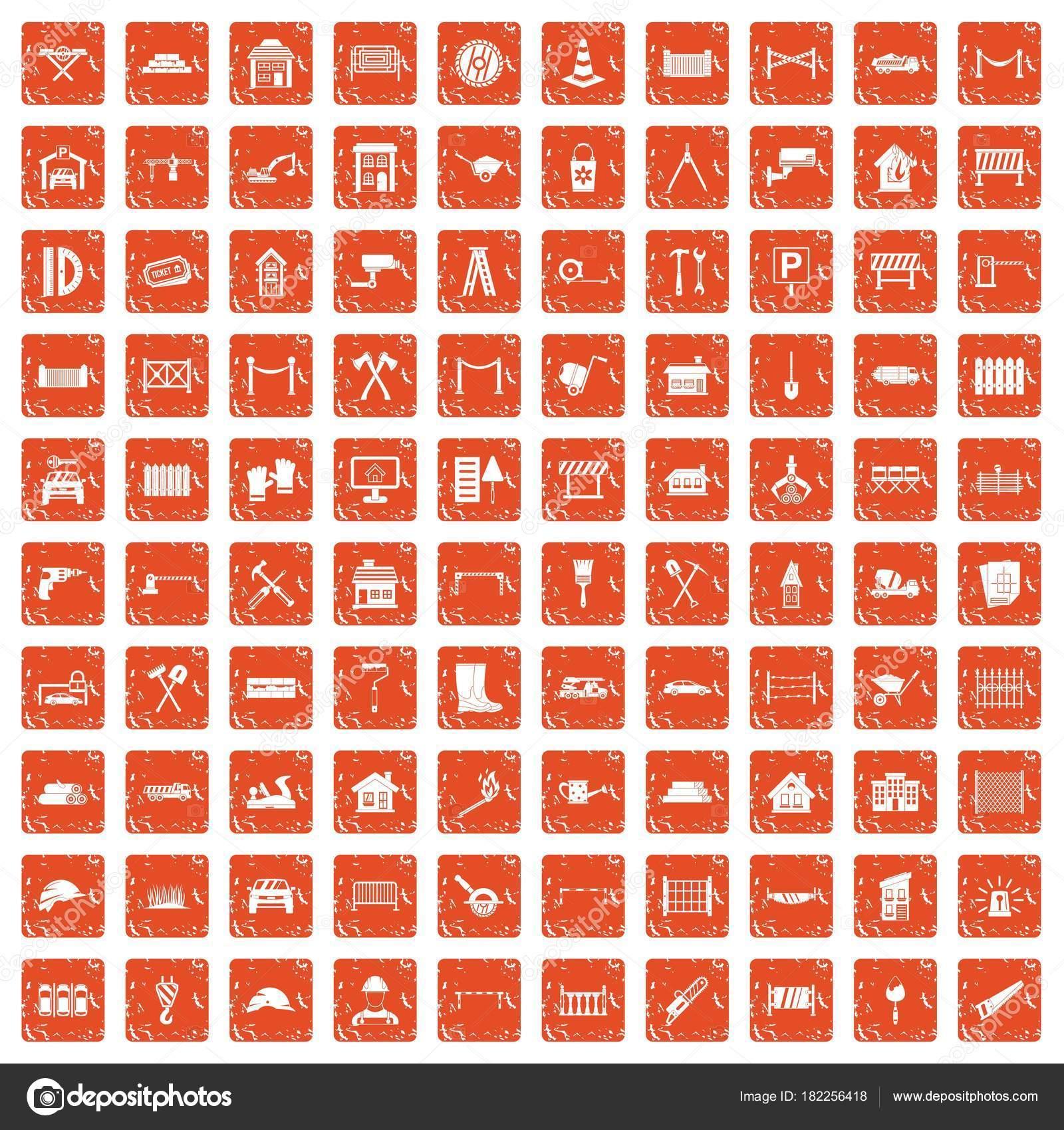 Заборы оранжевого цвета