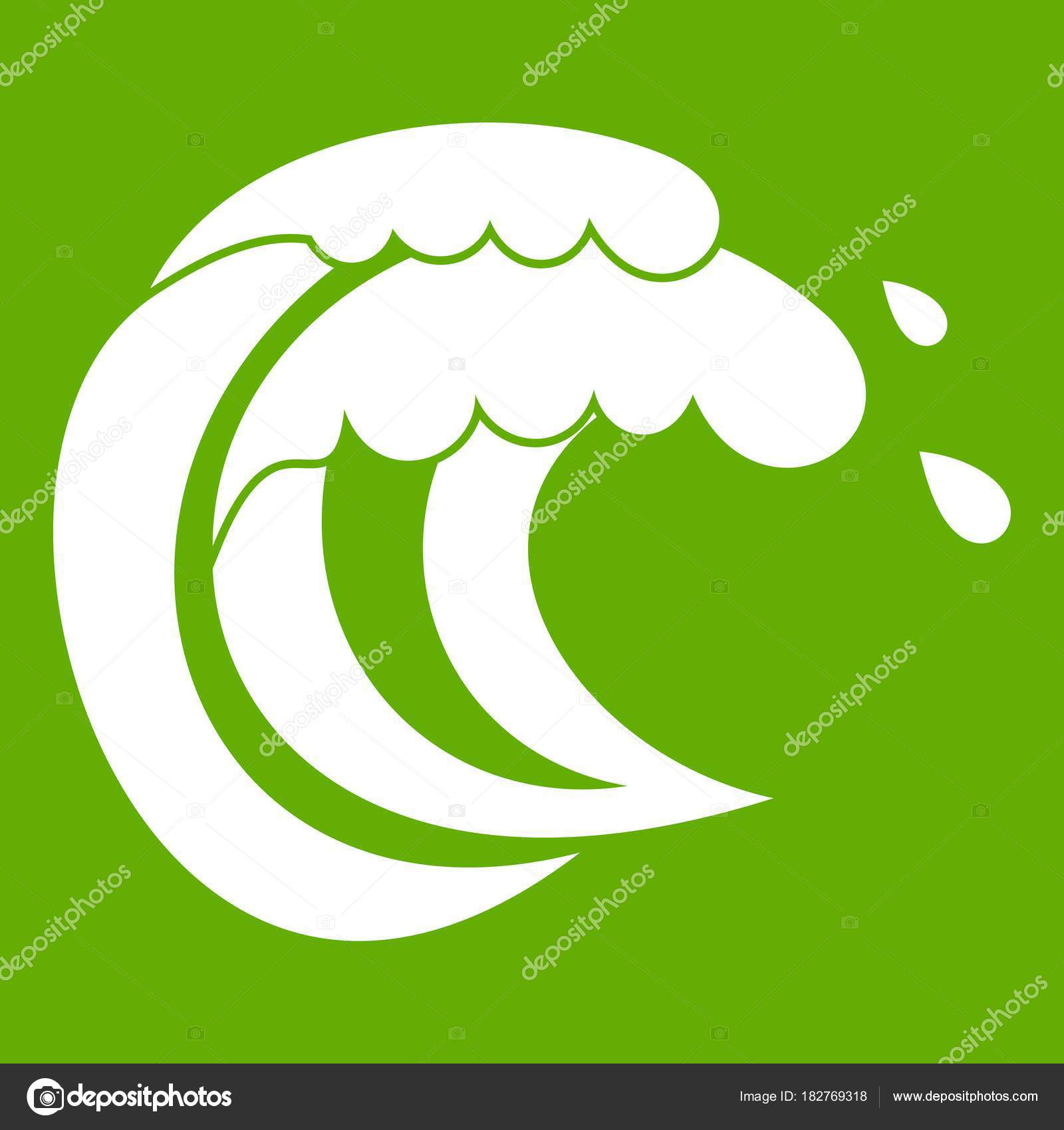 Wave of sea tide icon green stock vector ylivdesign 182769318 wave of sea tide icon green stock vector 182769318 biocorpaavc