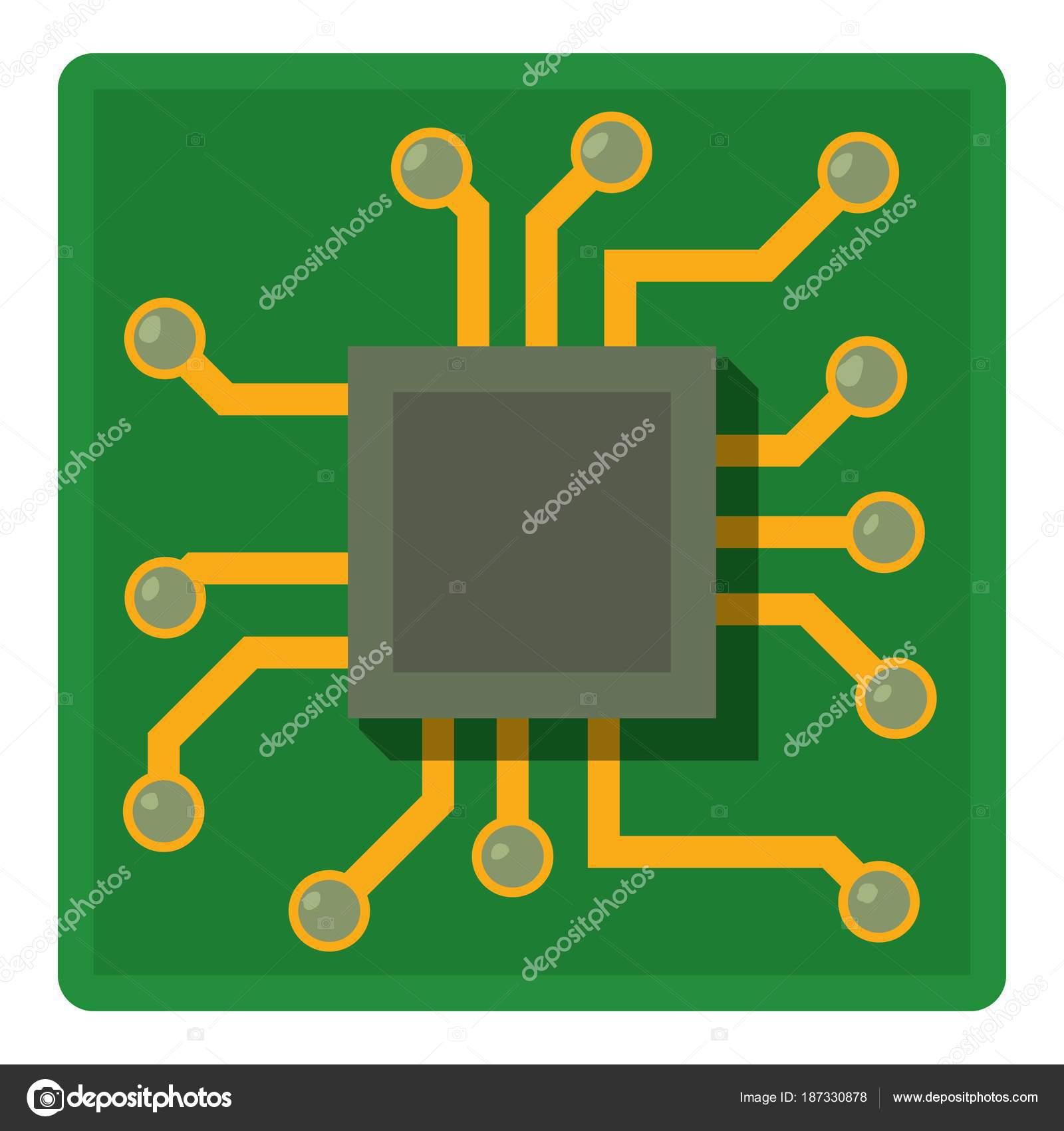 Radio-Komponenten-Symbol, Cartoon-Stil — Stockvektor © ylivdesign ...