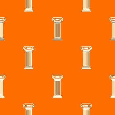 Roman column pattern seamless