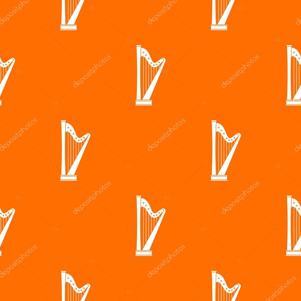 Harp pattern seamless