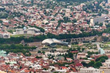 Panoramic view .Tbilisi, Georgia.