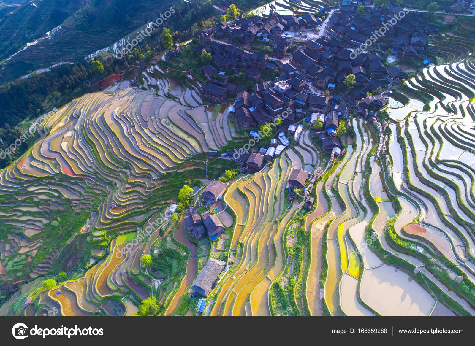 Terraza De Banco De China Fotos De Stock Mrmo 166659288