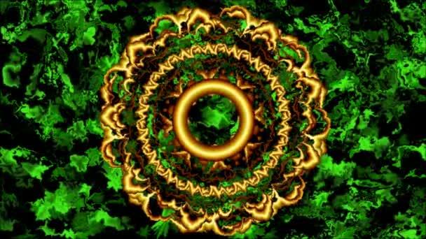 Mandala na abstraktní pozadí