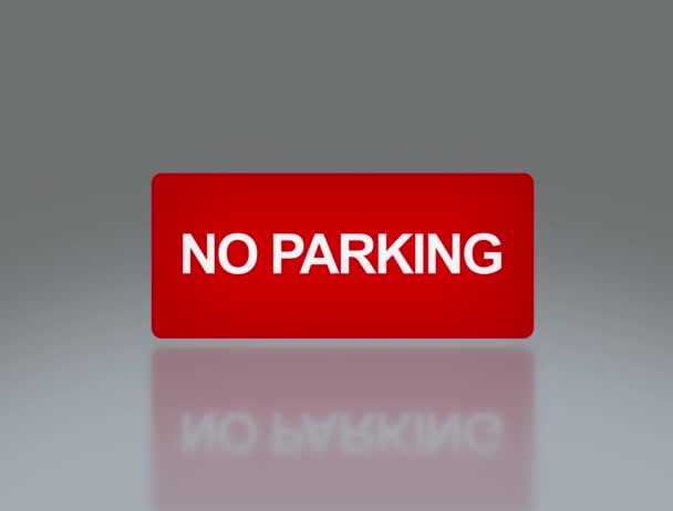 rectangle signage of NO parking 4K