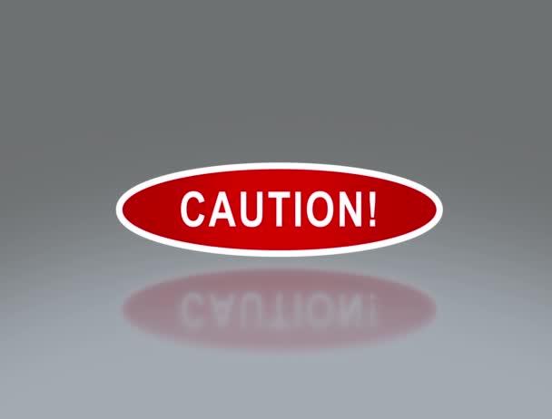 ovális signage óvatosan 4k