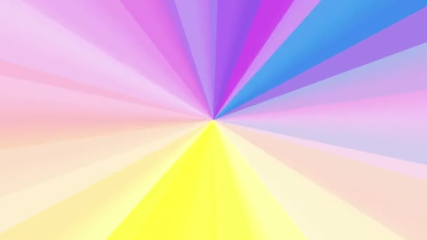 Purple Color Wheel Spectrum Stock Footage