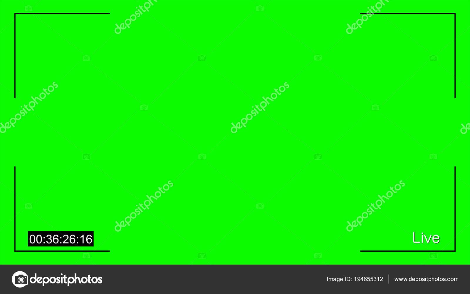 CCTV Live e timecode croma — Stock Photo © realcg #194655312