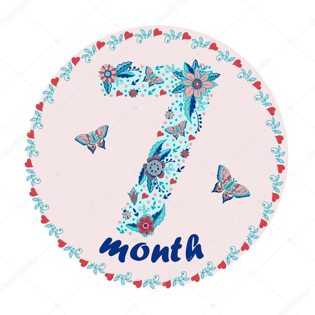 семь месяцев картинки