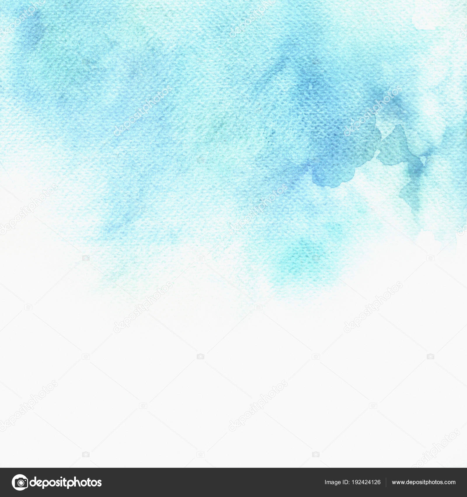 Watercolor celestial background with blank space 40