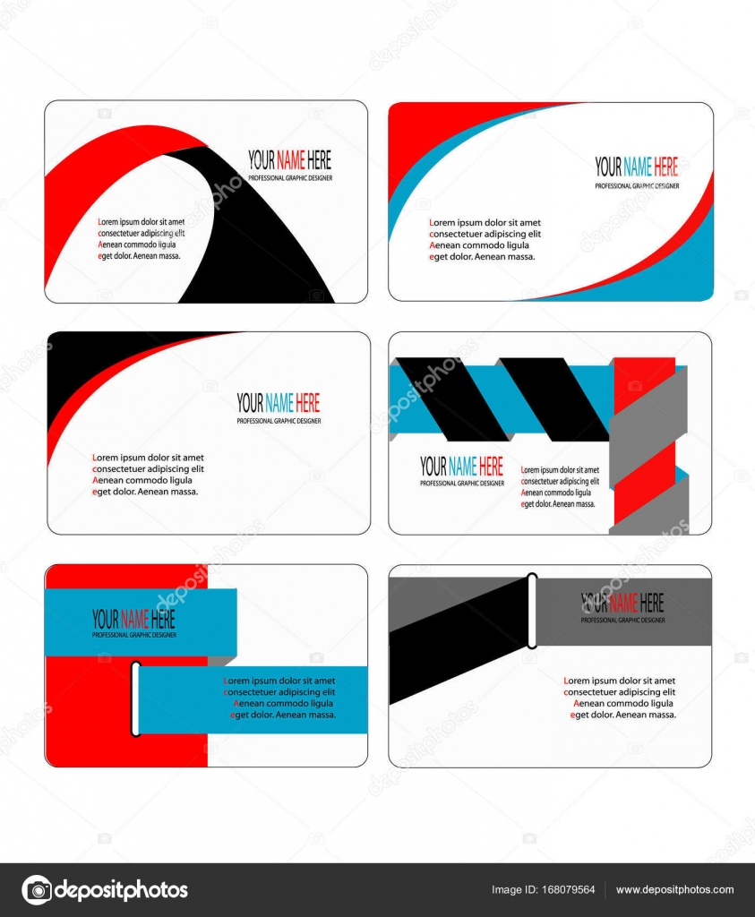 Modern and stylish business card template collection stock vector modern and stylish business card template collection stock vector reheart Gallery