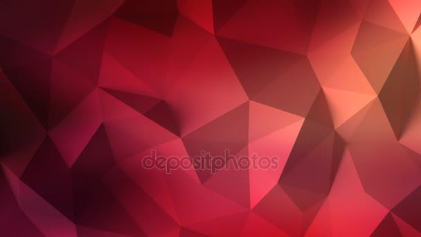 Animovaný 3d backgroung trojúhelníky abstrakt